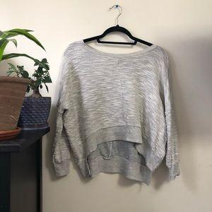 Hi-Line •MADEWELL• crop sweatshirt
